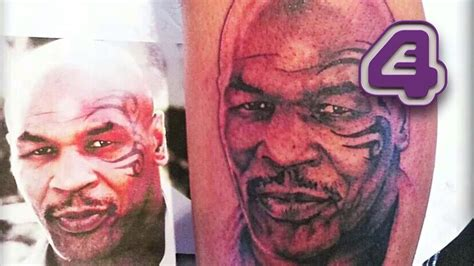 mike tyson tattoo removal mike tyson this amazing of himself