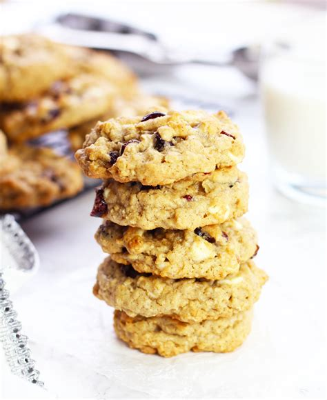 Link Brandied Cranberry White Chocolate Chip Cookies by Cranberry White Chocolate Chip Oatmeal Cookies 3