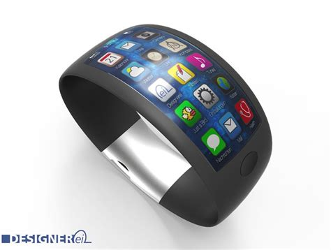 Apple Replika Apple Led Iwatch Led new iwatch concept design leaked by swiss design website