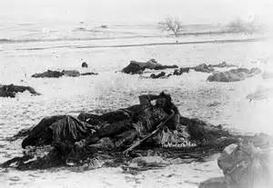 Haunting photos from the wounded knee massacre 125 years ago the