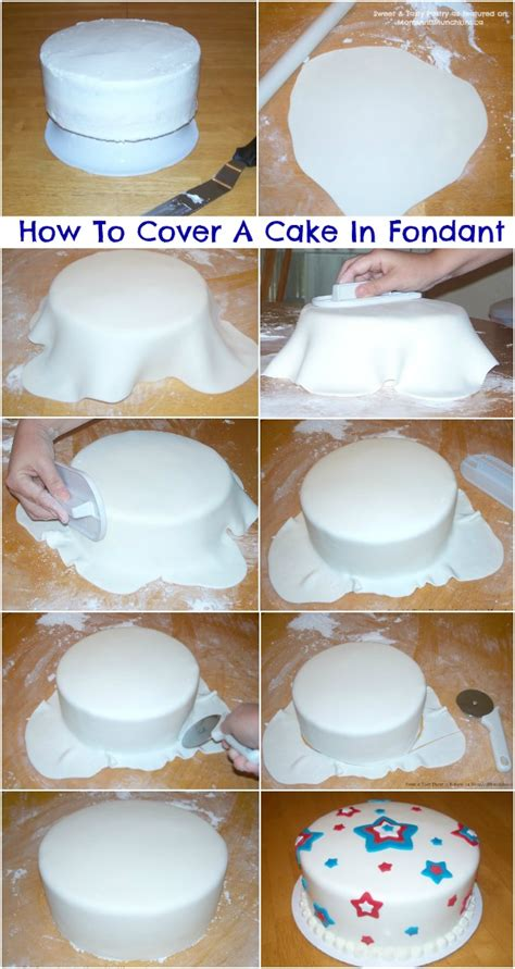 how to make cake decorations at home how to cover a cake with fondant tutorial