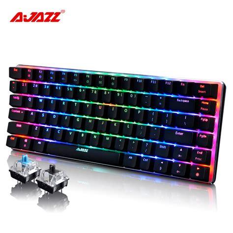 Keyboard Imperion Mech7 Rgb 87 Key Mechanical Keyboard 2017 new 82 wired ak33 rgb led backlit usb multimedia ergonomic illuminated mechanical