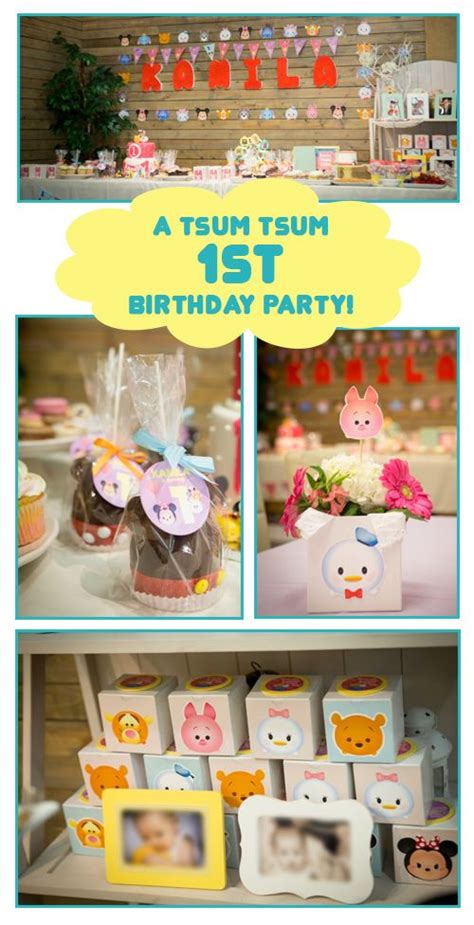 St Tsum Tsum R 34 best tsum tsum disney birthday ideas images on