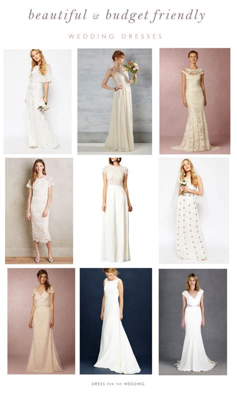 Affordable Dresses For Weddings by Beautiful And Budget Friendly Wedding Dresses