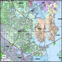 garland digital vector maps editable