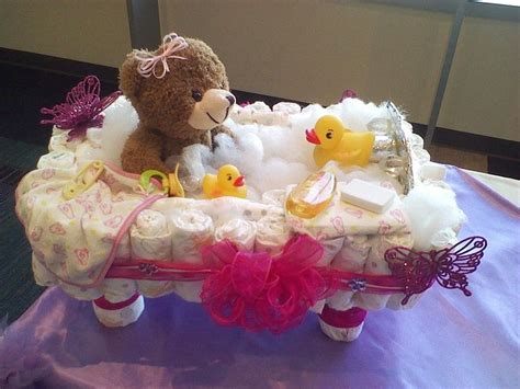 diaper cake bathtub bathtub diaper cake cake ideas and designs
