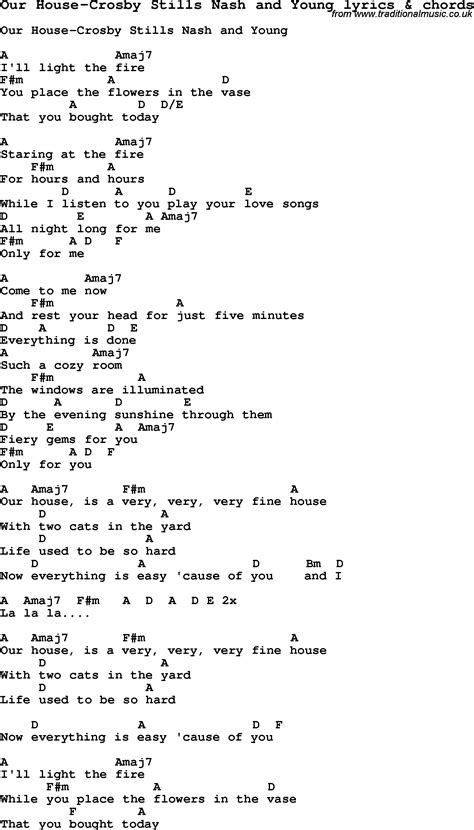 our house chords our house lyrics 28 images quot our house quot crosby stills and nash lyrics hd