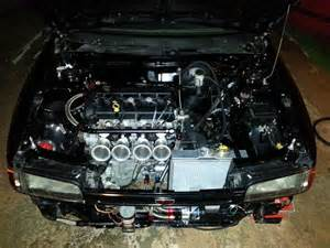 bg mazda 323 with mzr all motor