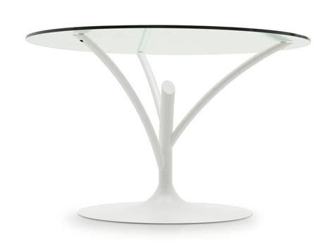 tavolo rotondo calligaris tavolo rotondo in acciaio e vetro acacia calligaris