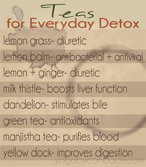Everyday Detox Tea Benefits by Detox Teas Benefits For The Smoothies Juice