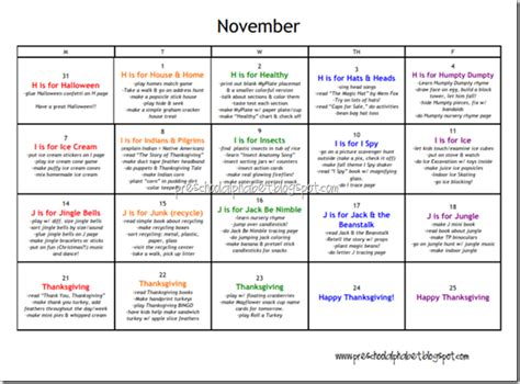 kindergarten themes for november amazing preschool plan very detailed if you need