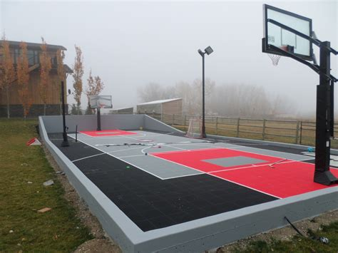 Backyard Basketball Court Tiles by Outdoor Basketball Court Flooring Basketball Scores