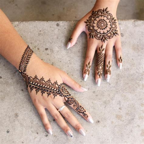 Easy mehndi designs step by step   HD Wallpaper