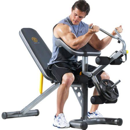 walmart gold s gym bench gold s gym xrs 20 olympic workout bench walmart com