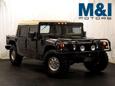 how can i learn about cars 1998 hummer h1 engine control purchase used 1998 hummer open top in highland park illinois united states for us 48 995 00