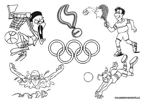 Coloring Pages Olympic Games | 12 olympic games coloring pages print color craft