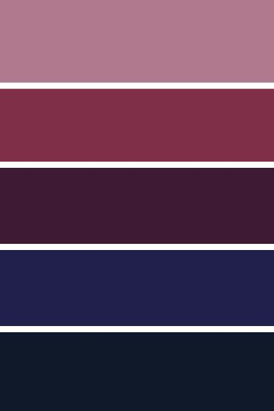 blackberry color palette 6 blackberry autumn wedding
