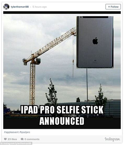 Ipad Meme - apple ipad pro and pencil sees fans create hilarious memes
