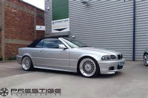 rs alloy wheels in 19 quot fitted to this bmw e46 cab