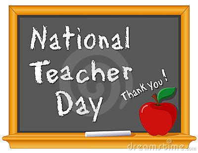national teacher day royalty  stock images image