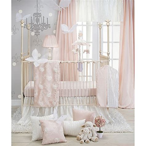 princess crib bedding buy glenna jean lil princess 3 piece crib bedding set in cream pink from bed bath beyond