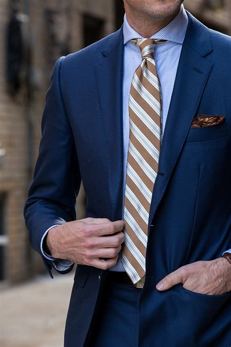what color tie with light blue shirt 13 different ties to wear with a blue suit he spoke style