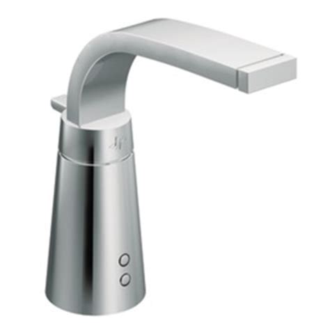 moen touchless kitchen faucet shop moen destiny chrome touchless single hole bathroom