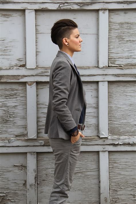 short butch womens hair 129 best images about hair androgynous lesbian dyke