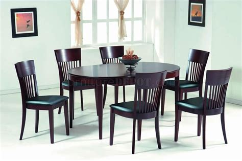 Dining Table Shapes Oval Shape Wooden Dining Table Designs Home Wall Decoration