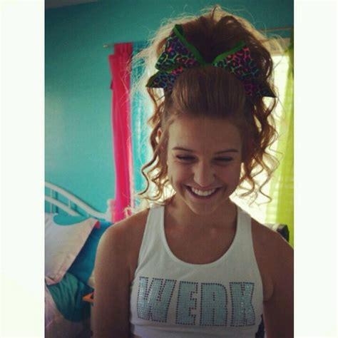 pictures of cheer hair styles cheer hair trusper