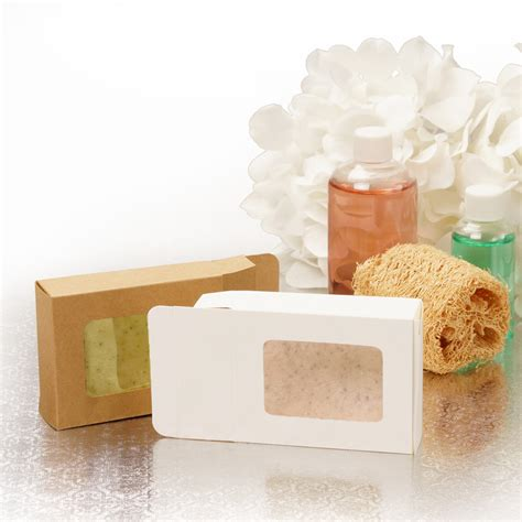 boxes with clear window clear window soap boxes