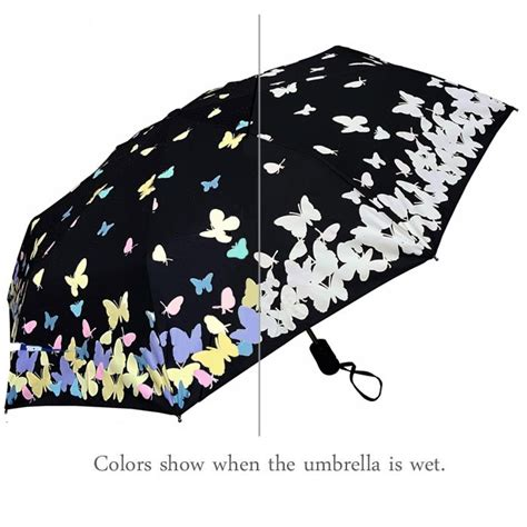 color changing umbrella color changing butterfly umbrella with auto feature
