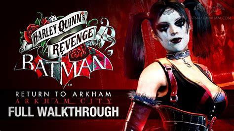 batman return to arkham city harley quinn s