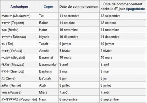 Calendrier Copte Calendrier Et Indication Sp 233 Cifique De L Heure