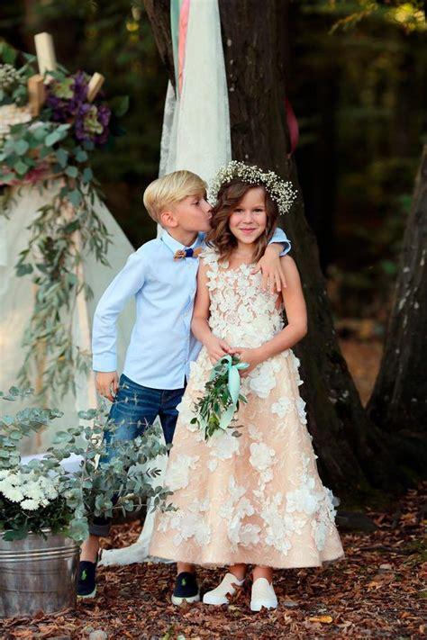 Blumenkinder Hochzeit by Hochzeit Kleider F 252 R Die Blumenkinder At