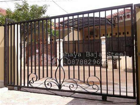jual pintu pagar besi minimalis  lapak besi tempa klasik