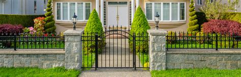 4 Contemporary Fencing Designs For Security And Aesthetics Home Fences Designs