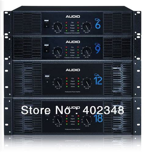 Power Lifier Crest Audio Ca 18 High Class Power Lifiers Ca18 Crest Audio Aaaa Rate Quality In Professional Audio