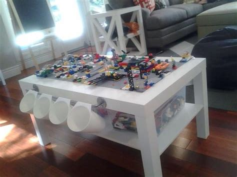diy lego table white diy lego table using ikea lack coffee table playroom coffee tables and