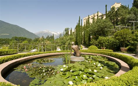 Best Air Beds The Water And Terraced Gardens In Merano S Botanical Paradise