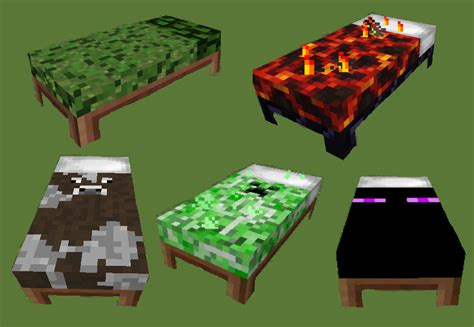how do you make a bed in minecraft 1 4 7 coloured beds mod download minecraft forum