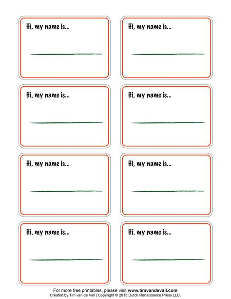 name labels template printable name tags compatible w avery templates 5395