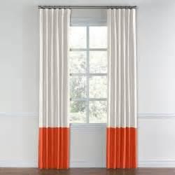 Orange Linen Curtains Orange Curtains Shop For Orange Curtains On Polyvore