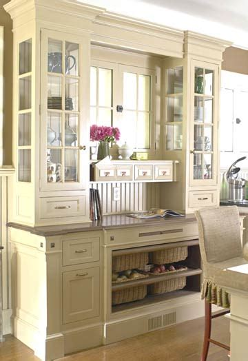 hutch cabinet around a window smart home kitchen