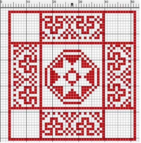 cenefas geometricas punto de cruz esquema a punto de cruz