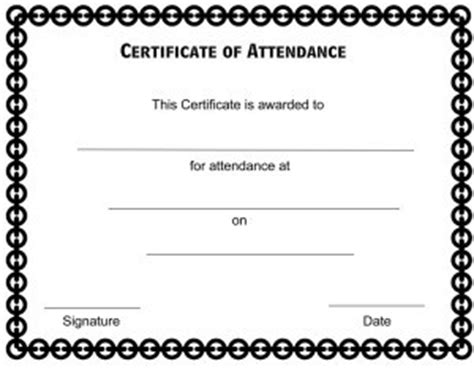 certificate of appearance template templates for employee of the month just b cause