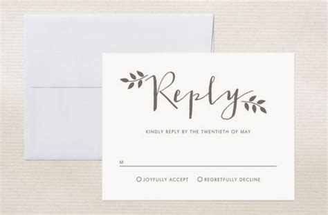 Ways Word Wedding Invitations by Ways To Word Your Rsvp Card Wedding Calligraphy And