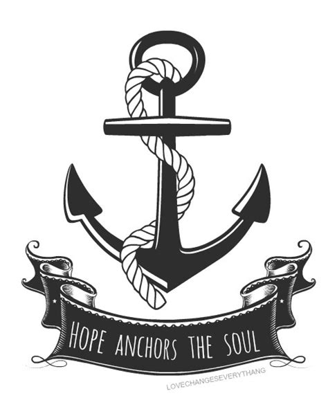 hope anchors the soul tattoo anchor the soul