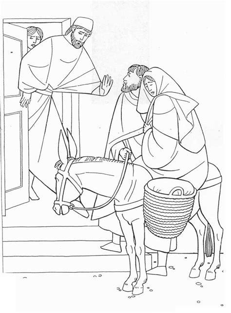 imagenes de posadas navideñas para colorear imagenes cristianas para colorear huida a egipto para