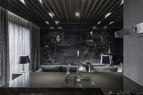 black apartment  atelierii   design